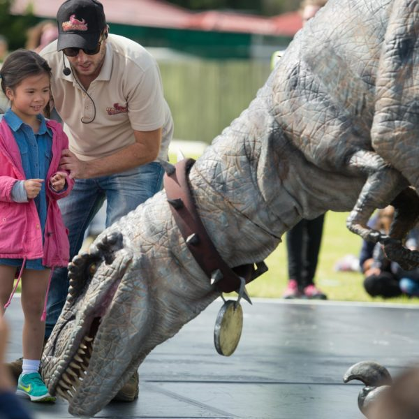 interactive dinosaur experience Melbourne