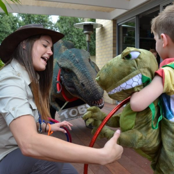 Dinosaur Party entertainment Australia