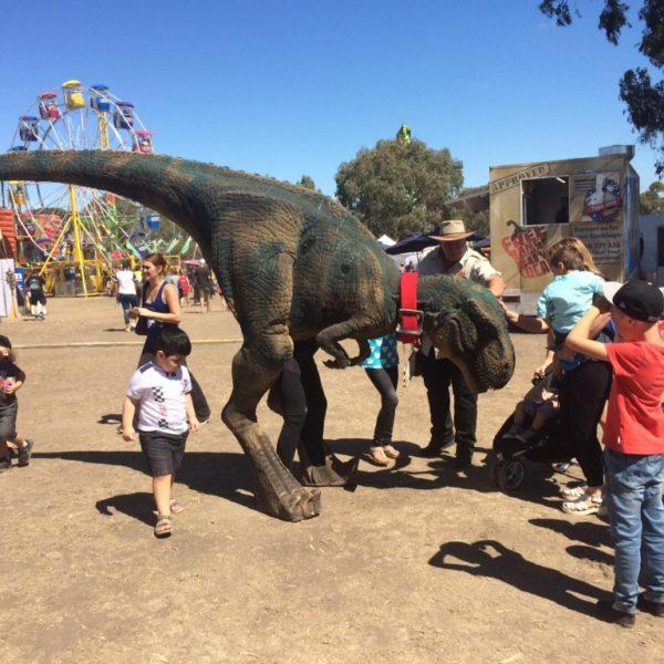 real dinosaur experience