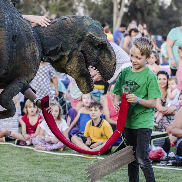 prehistoric jungle dinosaur experience Melbourne