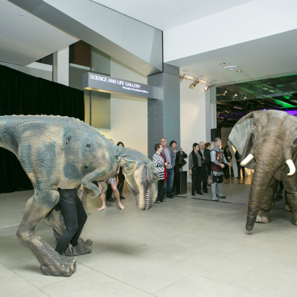 best dinosaur hire company Australia
