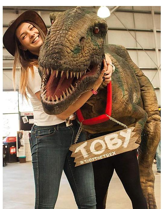 dinosaur hire Melbourne